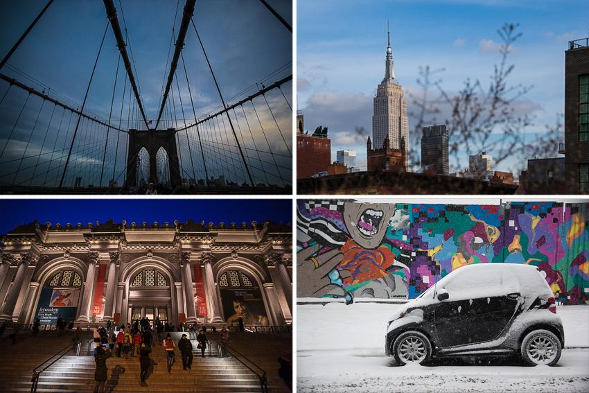 Нью-Йорк Америка США зима 2017 Манхеттен Бруклин достопримечательности факты
