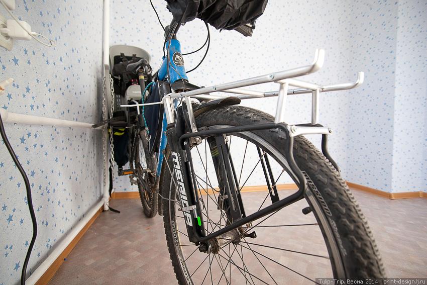 Багажник на двухподвесный велосипед своими руками 36