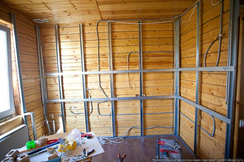 Звукоизоляция стен своими руками в деревянном доме.