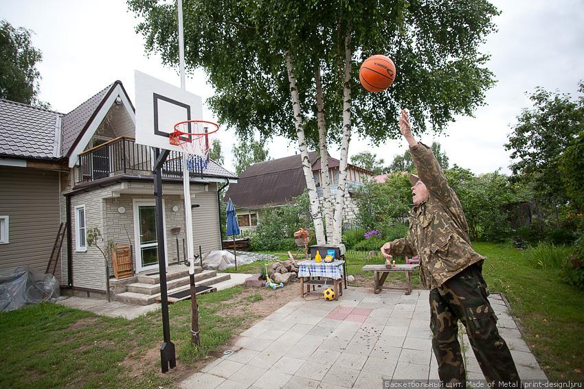 Баскетбольный кольцо как сделать в домашних условиях
