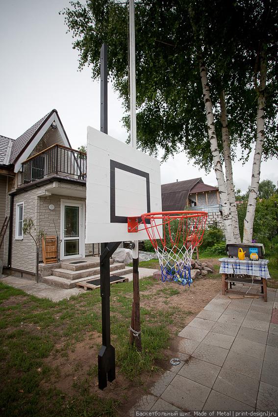 Кольцо баскетбол своими руками