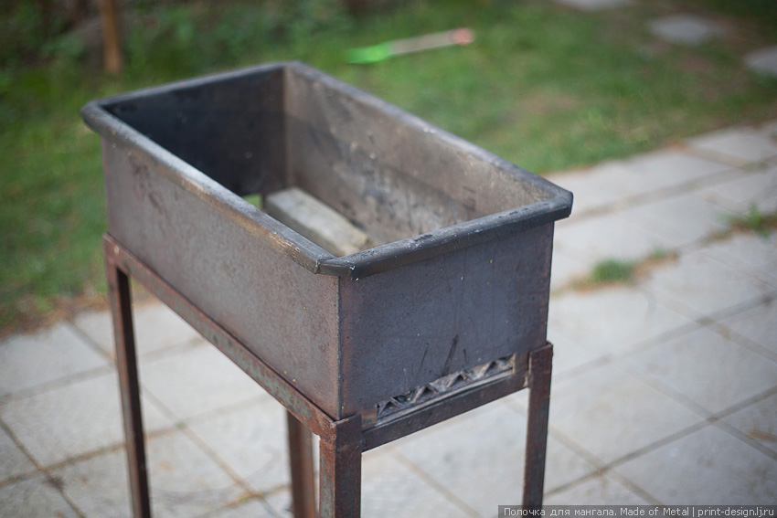 Дополнительная полочка для мангала усовершенствование своими руками шашлык барбекю шампур