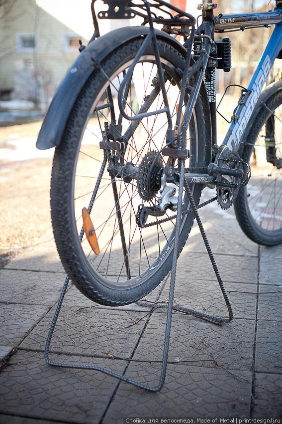 Подставка под колесо велосипеда своими руками 429