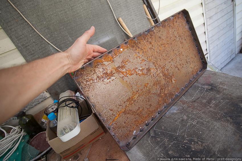 Как сделать крышку для мангала - Avtoskool.ru
