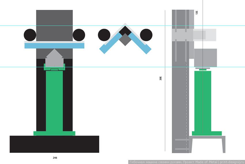Гибочная машина станок для гибки арматуры полосы профиля трубы своими рукамиborder=