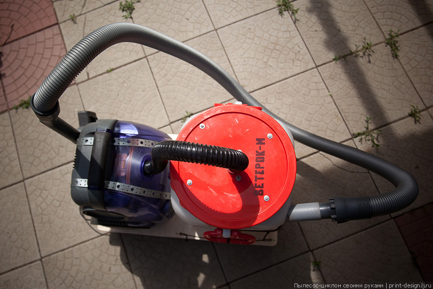 Как сделать строительный пылесос из бытового